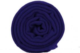 Écharpe bleu indigo en laine homme femme