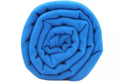 Écharpe cachemire Bleu du Népal