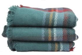 Maxi écharpe en laine tartan pour homme et femme