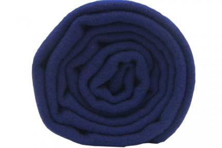 Écharpe en laine bleu marine