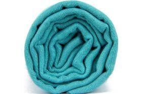 Pashmina bleu clair turquoise