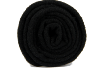Écharpe noire en laine  homme femme