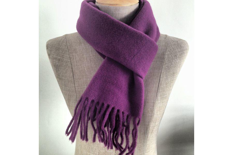 192402337ab7 écharpe laine homme violet   Espaceflirey
