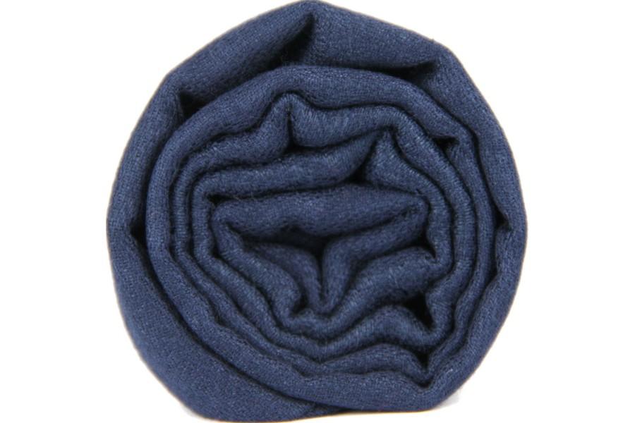 pashmina bleu marine