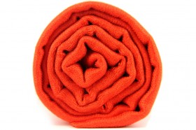 Foulard orange fluo uni
