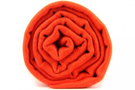 Foulard orange fluo uni