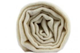 Écharpe blanche ivoire en laine