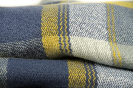 Maxi écharpe en laine Tartan