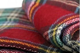 miniature : Écharpe oversize à carreaux