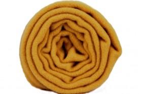 Écharpe en laine jaune moutarde