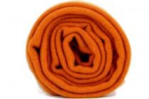 Écharpe  couleur corail en laine femme et homme