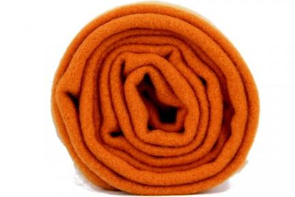 Écharpe en laine orange