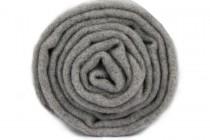Écharpe grise chinée pour homme et femme