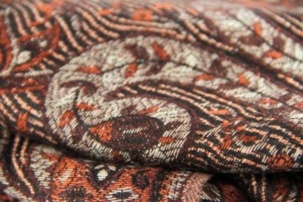 Pashmina, écharpe de couleur