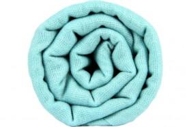 miniature : Echarpe cachemire bleu ciel