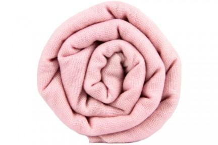 Echarpe en cachemire rose fuschia