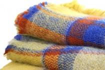 Écharpe plaid tartan écossais en laine