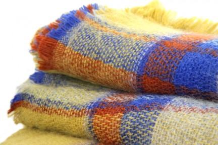 Écharpe plaid tartan écossais en laine à carreaux