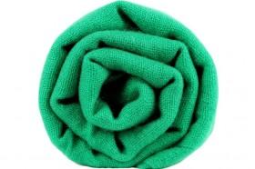 miniature : Écharpe en cachemire vert