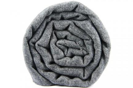 Echarpe en cachemire grise