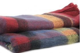 Écharpe oversize en laine pas cher Tartan Mac Namara 8a91ef3fb71