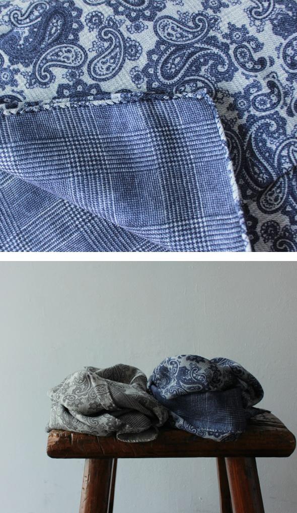 fabrication echarpe cachemire