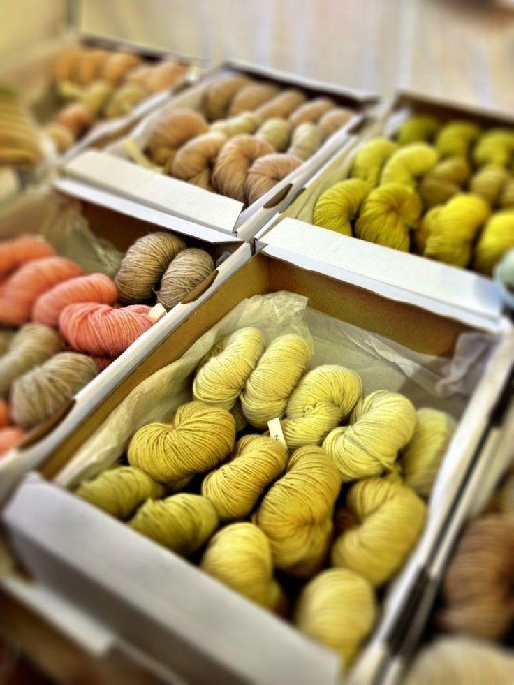 fabrication echarpe en laine cachemire