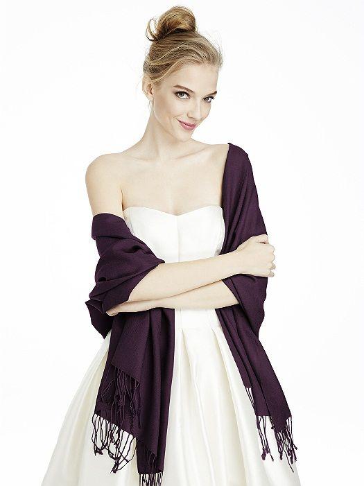 porter etole sur robe soiree