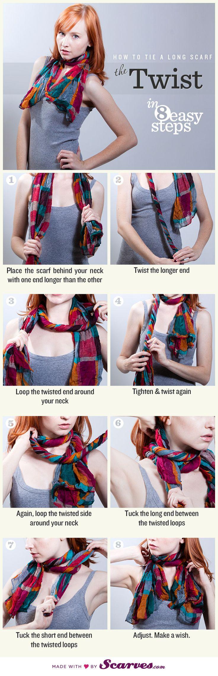 comment mettre echarpe avec style