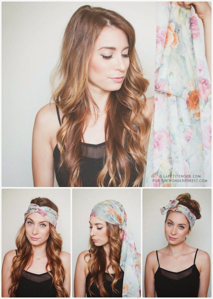 comment nouer foulard femme