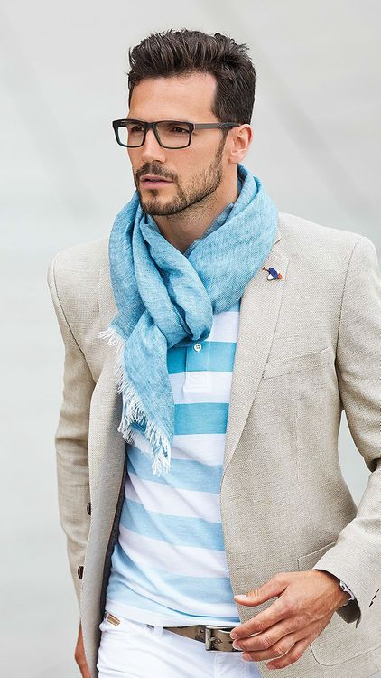 comment nouer foulard homme