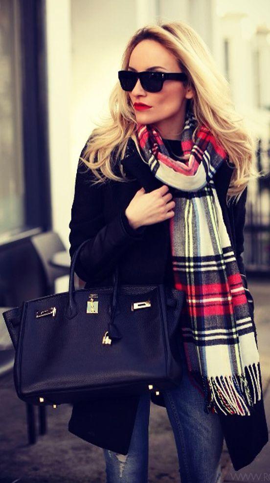 echarpe femme tendance mode