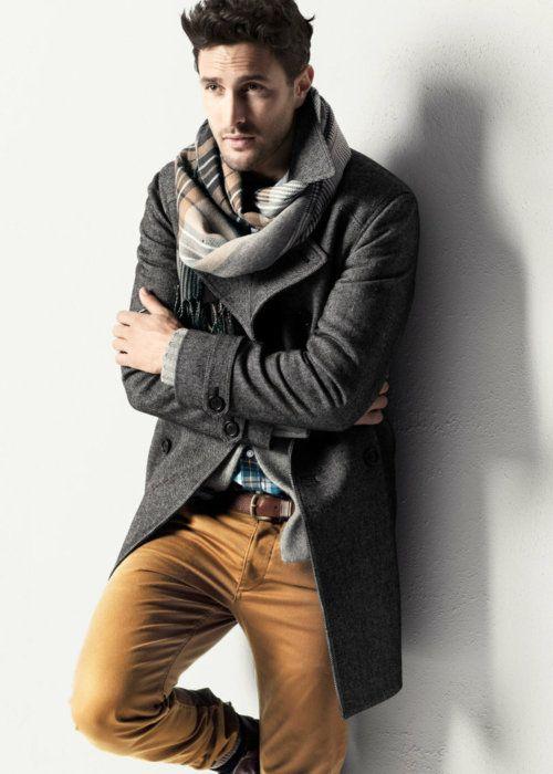 Comment mettre et porter une charpe avec classe et style - Comment mettre une echarpe plaid ...