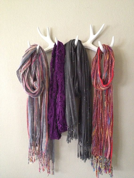 rangement echarpe et foulard