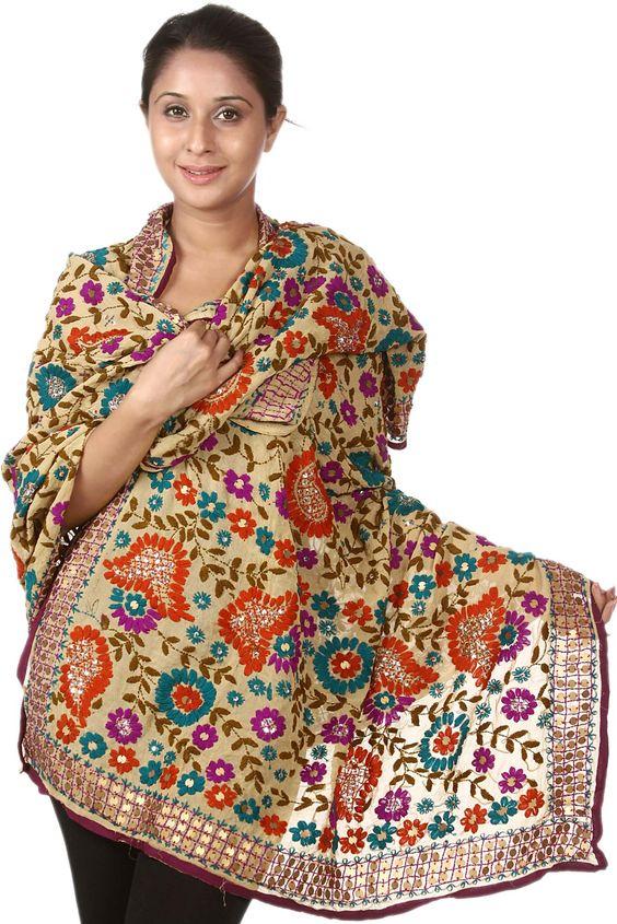 fabrication pashmina en cachemire