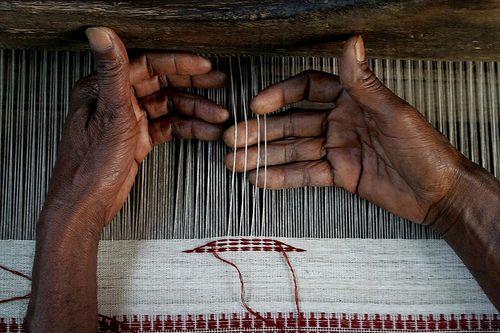 tissage laine cachemire