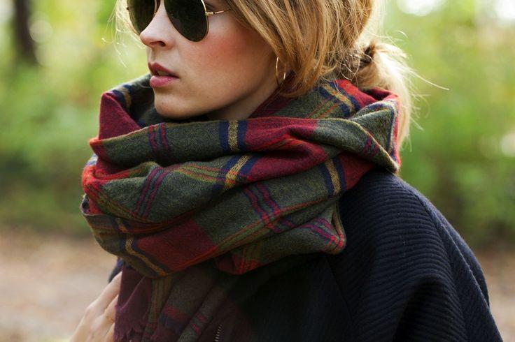 comment porter echarpe femme