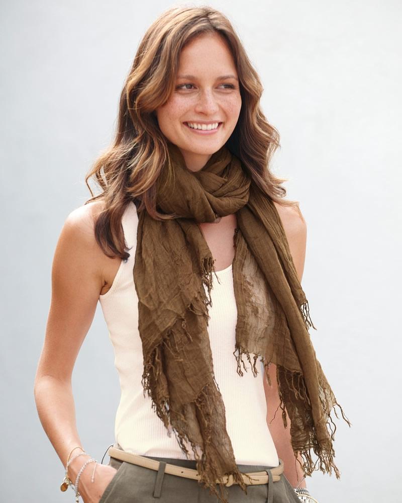 foulard tendance mode hiver