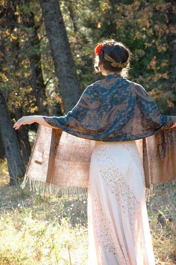 porter pashmina drape