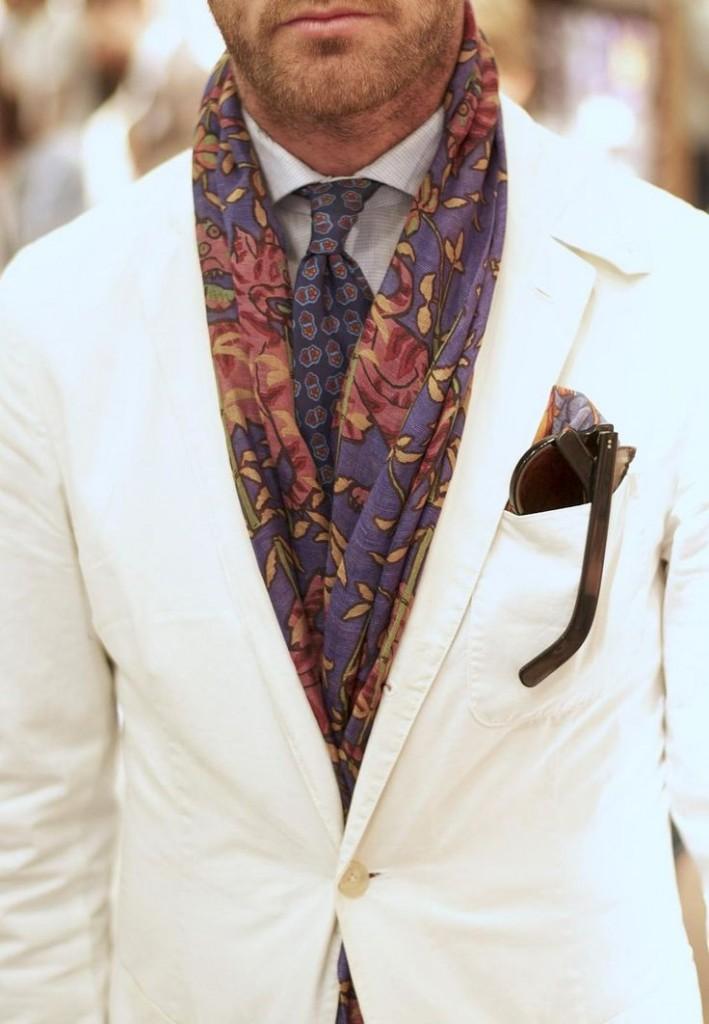 noeud foulard dandy homme