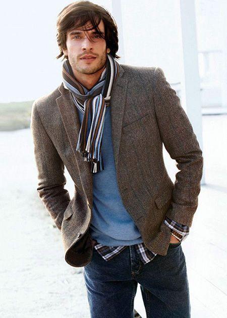 noeud foulard homme