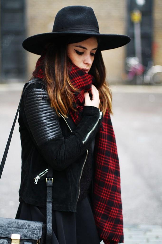 couleur foulard pour brune