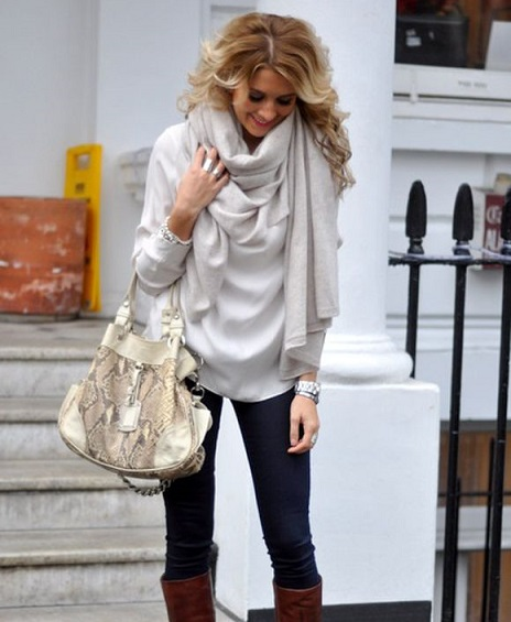 tendance echarpe foulard 2014