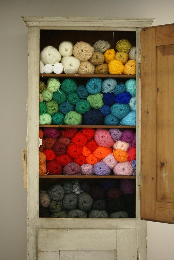 laine change couleur et deteint