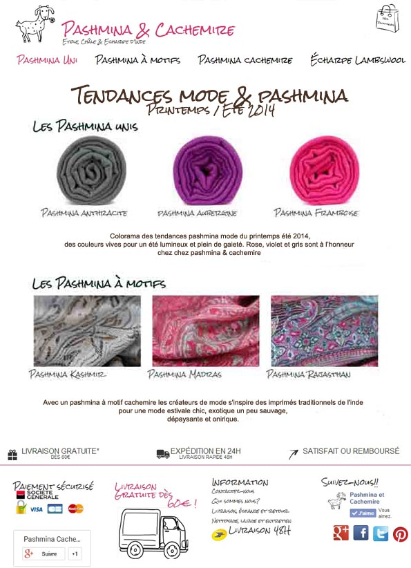 comunique presse pashmina printemps ete copie