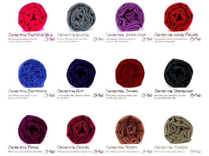 laver foulard cachemire