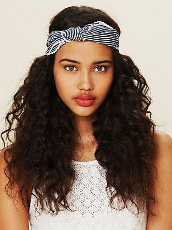 foulard cheveux afro fris s cr pus ou boucl s. Black Bedroom Furniture Sets. Home Design Ideas