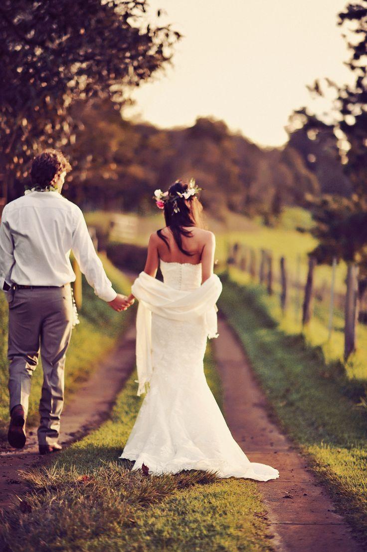 Comment mettre etole sur robe mariee