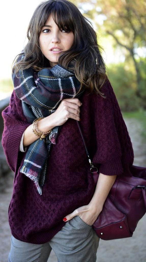 foulard ecossais tartan