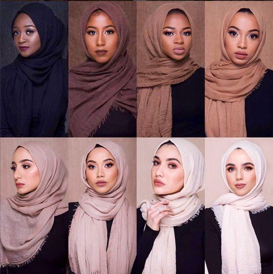 Quelle couleur hijab choisir ?